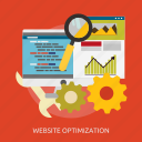 development, optimization, seo, website icon