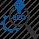 find, search, seo, solution icon