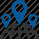gps, local, location, seo icon
