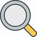 find, search, web, zoom icon