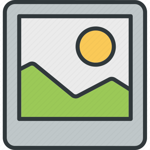 file, gallery, image, photo, picture icon