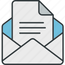 contact, feedback, mail, reply icon