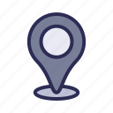 location, magnifier, map, optimization, pin, placeholder, seo icon