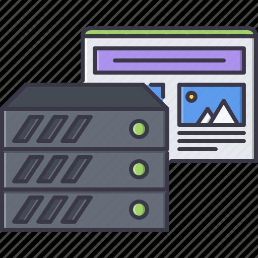 data, hosting, marketing, promotion, seo, server, site icon