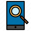 browsephone, phone, search icon