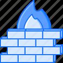 antivirus, fire, protection, seo, site, wall