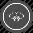 cloud, setting, settings icon