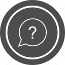 ask, help, mark, question, questionmark icon