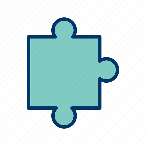 concept, jigsaw, leisure, piece, puzzle icon