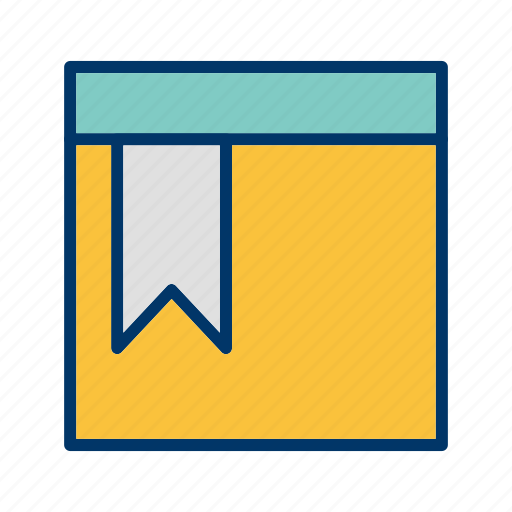 Bookmarked, page, favourite icon - Download on Iconfinder