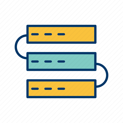 backup, data, network, server, storage, web icon