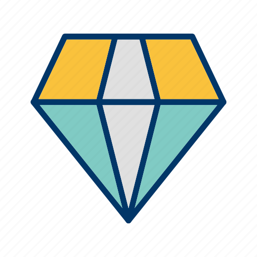 Diamond, jewel, gemstone icon - Download on Iconfinder