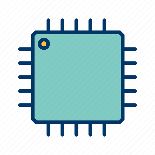 Microchip, processor, cpu icon - Download on Iconfinder