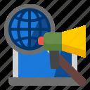 campaign, global, search, seo icon
