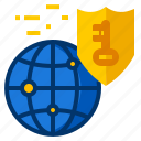 data, internet, network, protection, security icon