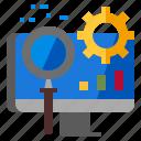 marketing, optimization, seo, technology, web icon