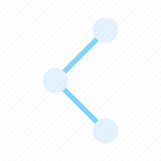 connect, interface, link, share icon
