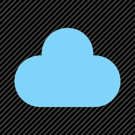 cloud, computing, share icon