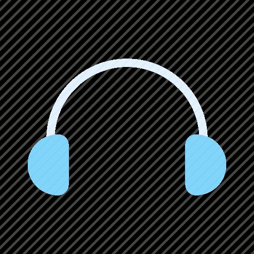 earphone, headphone, headset, music icon