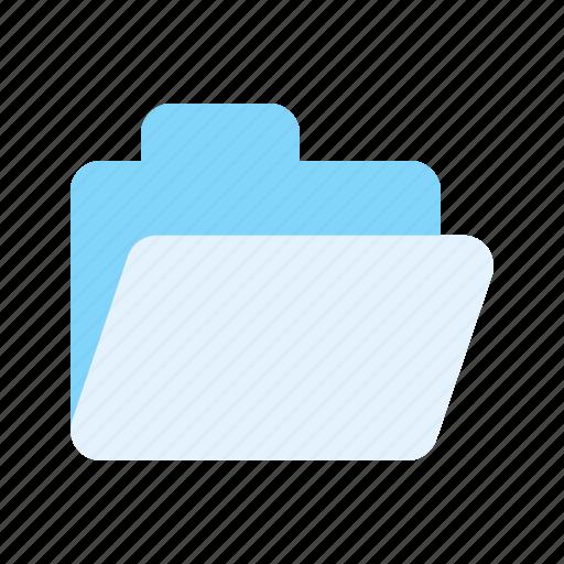 collection, file, folder, straight icon icon