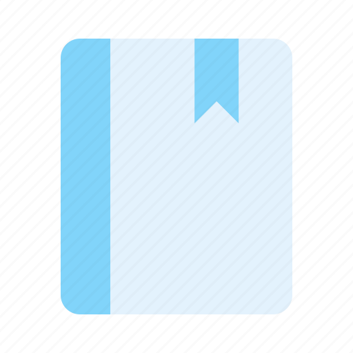 book, bookmark, notebook, notes icon