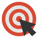 click, targeting icon