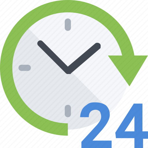 24 hour, assistance, help, helpdesk, support, technical icon