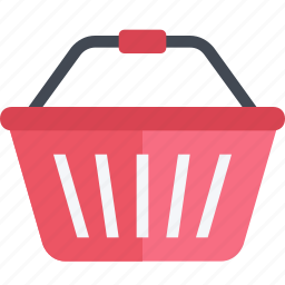 basket, cart, commerce, market, purchase, retail, shopping icon