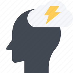 brainstorm, creative, creativity, idea, innovation, planning icon