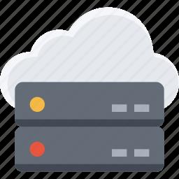 big data, cloud, data, database, server, storage, system icon