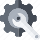 cogwhell, engineering, gear, machine, mechanic, mechanism, setting icon