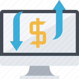 advertising, make money, money, ppc, revenue, traffic icon