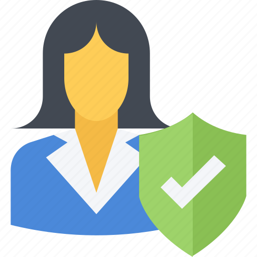 crime, cyber, policy, privacy, safety, secure, woman icon