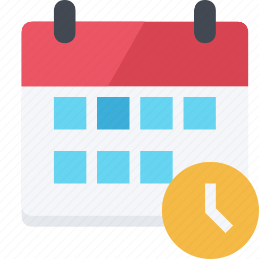 appointment, calendar, countdown, deadline, reminder, schedule, timer, timetable icon