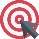 accuracy, aim, arrow, arrowgoal, bullseye, hit, success, target icon