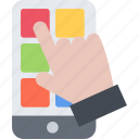 app, business, marketing, seo, startup icon