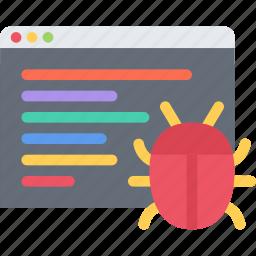 bug, business, fix, marketing, seo, startup icon