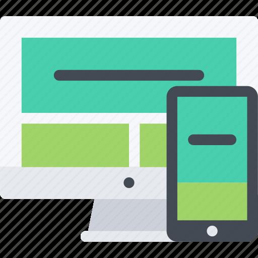 business, design, marketing, responsive, seo, startup, web icon