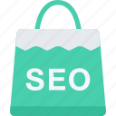 business, marketing, package, seo, startup icon