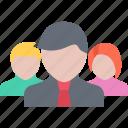 business, marketing, seo, startup, team icon