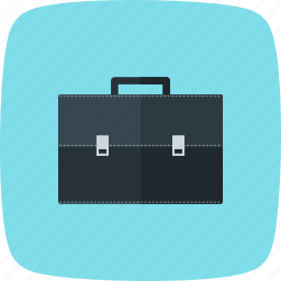 attache case, bag, breifcase, portfolio icon