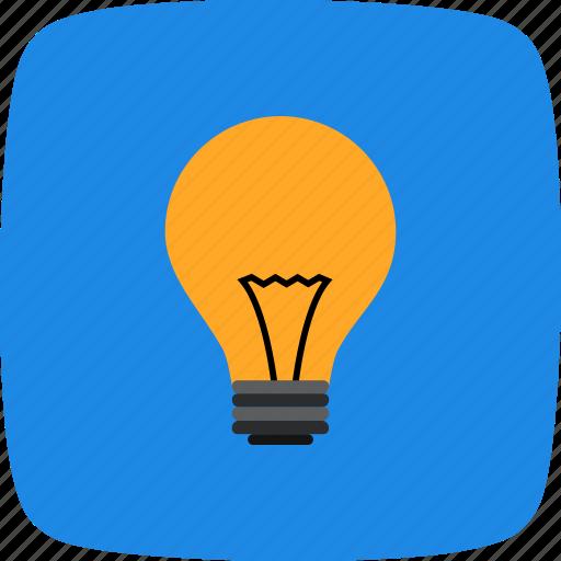 bulb, concept, idea icon