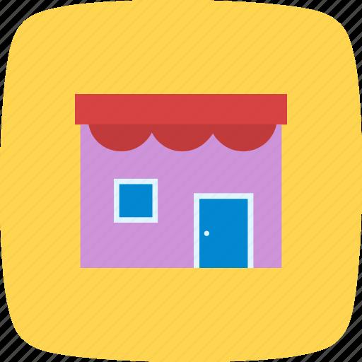 cafe, front, market, retail, shop, store icon