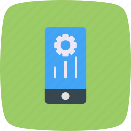 mobile marketing, programing, settings icon