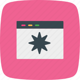 browser, favourite, page quality icon