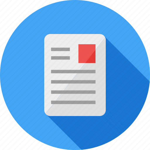 article, daily, document, page, print, publication icon