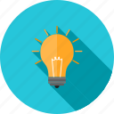 advertisement, bulb, electric, idea, internet, light, promotion icon