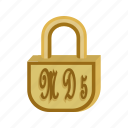 business-lock, connection, ecommerce, generator, md5, online, online md5 generator icon