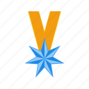 achievement, factor, ranking, ranking-factor, star, verified, winner icon