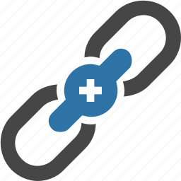 chain, connection, hyperlink, link, linked, links, network icon